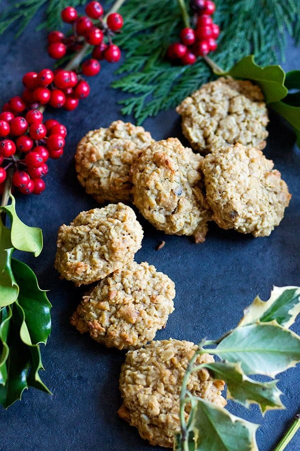 Maple Walnut Oatmeal Cookies are a delicious twist on classic cookies. Maple gives a great hint of natural sweetness and walnut brings some extra crunch. Delicious!