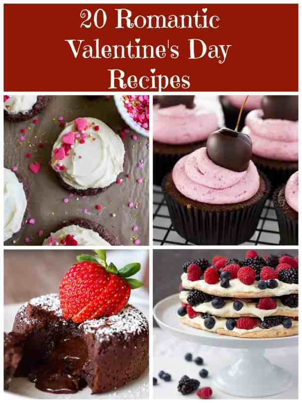 A collection of the most beautiful recipes to make this year, these 20 Romantic Valentine's Day Recipes are your ultimate guide to a fantastic day!