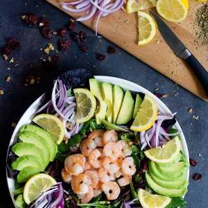 The Best Shrimp Avocado Salad