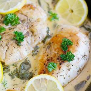 Easy Lemon Butter Chicken
