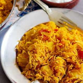 Persian One Pot Tomato Rice – Dami Gojeh Farangi