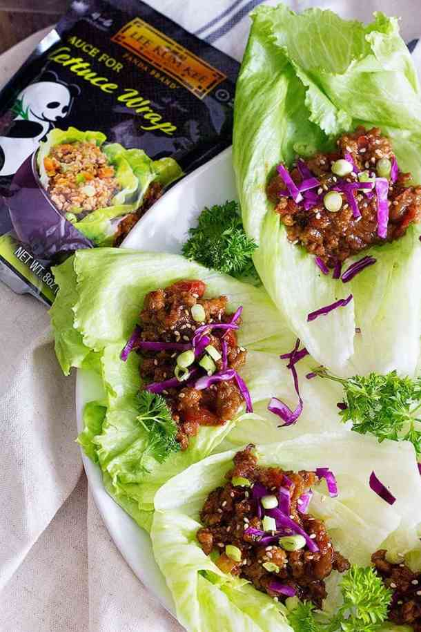 Turkey Lettuce Wraps are simple and easy to make with a special sauce that brings out so much flavor! These lettuce wraps are great for a fast, tasty snack.