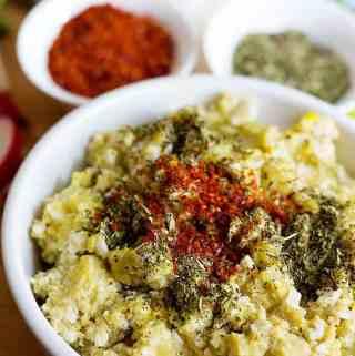 Yeralma Yumurta – Potatoes and Eggs