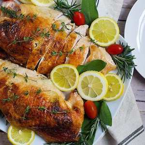 Juicy Herb Roasted Turkey Breast Recipe