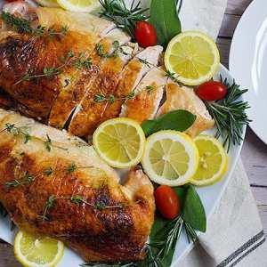 Juicy Herb Roasted Turkey Breast Recipe