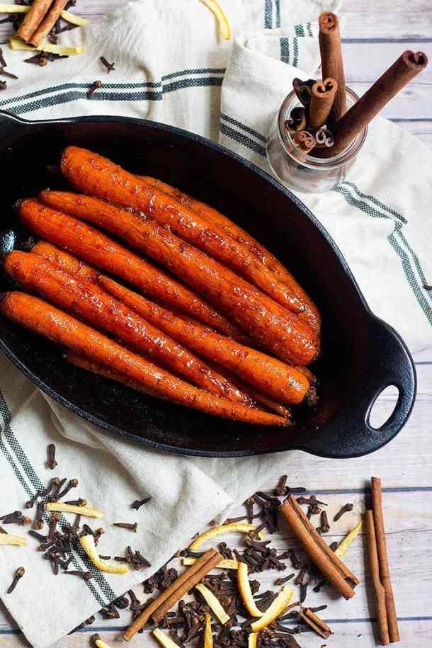 Honey Butter Carrots   Brown Sugar Carrots   From UnicornsintheKitchen.com