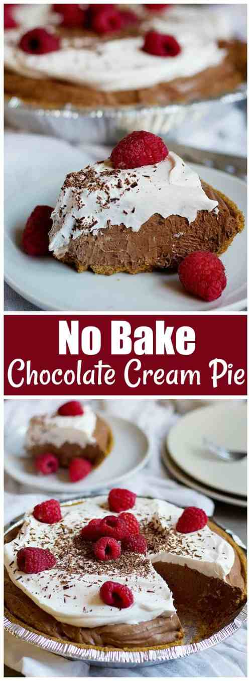 Double Chocolate Silk Cake Pie Recipe