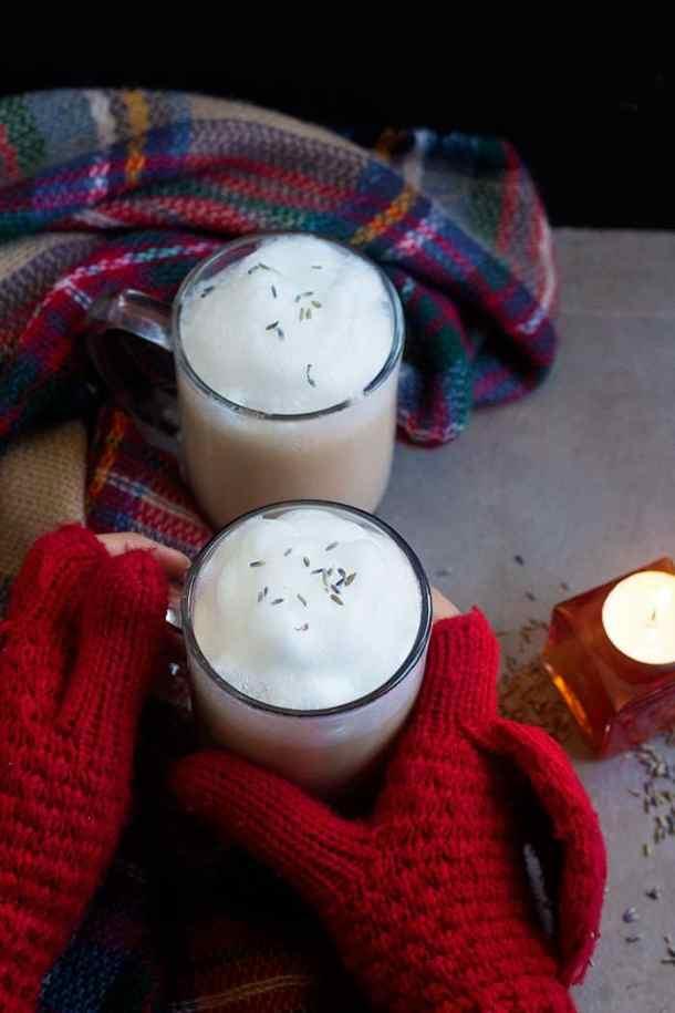 London Fog Tea Latte with Lavender