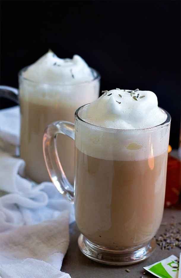 London Fog Latte with frothing milk is very simple and easy to make.