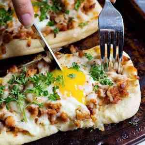 Quick Breakfast Pizza Recipe