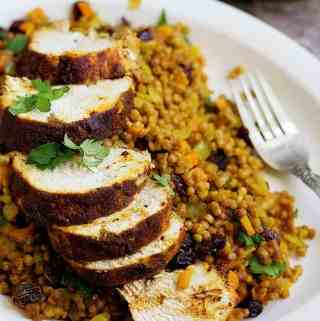 Moroccan Chicken Recipe with Couscous