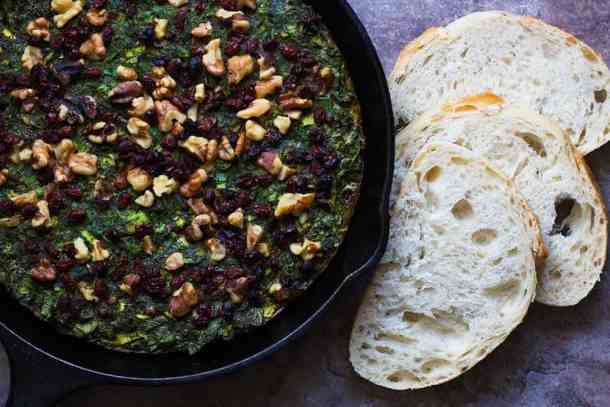 Serve kuku sabzi with bread and some yogurt. You can also serve it with rice.