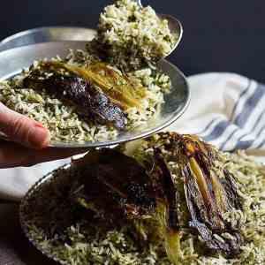 Sabzi Polo (Persian Herb Rice)