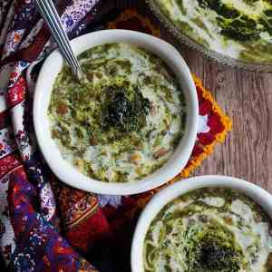 Ash Reshteh (Persian Noodle Soup)