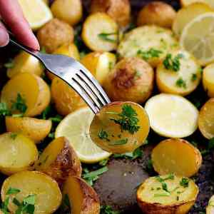 Delicious Greek Potatoes Oven Roasted