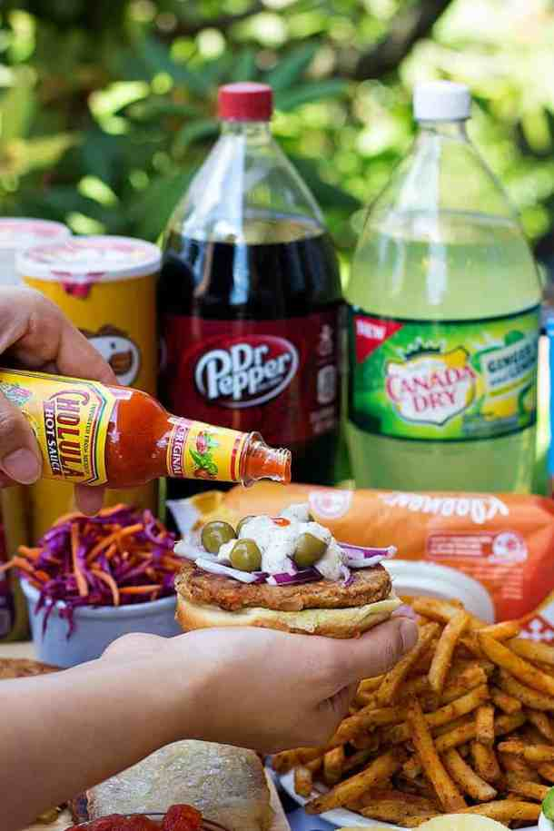 Add hot sauce to burgers for more flavor