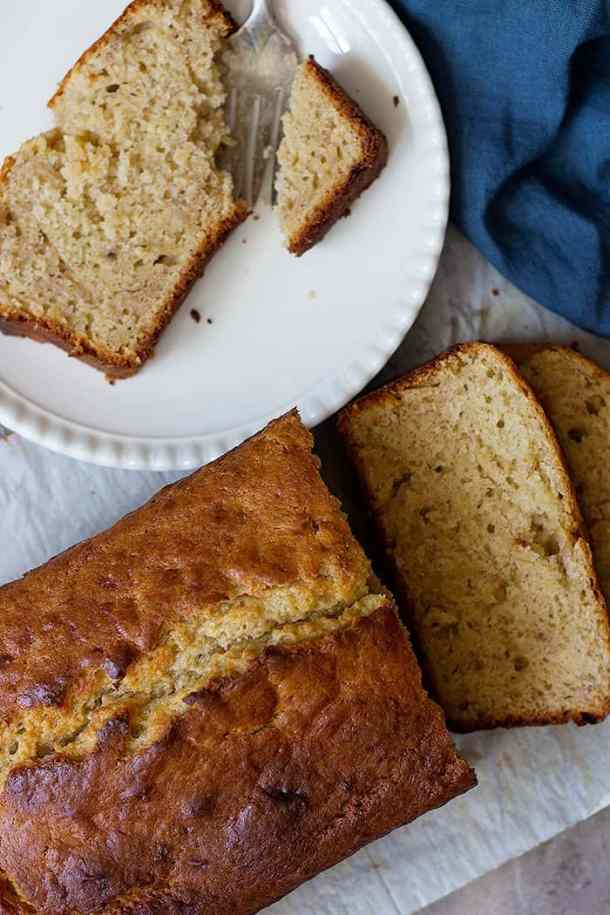 Learn how to make sour cream banana bread that's moist and absolutely delicious. This easy banana bread is perfect for breakfast or a midday snack.