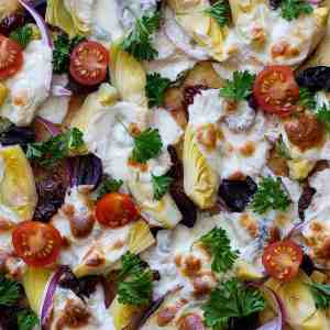 The Best Mediterranean Pizza Recipe