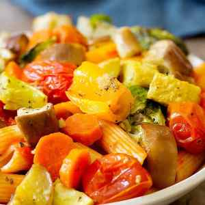 Roasted Vegetable Pasta Recipe