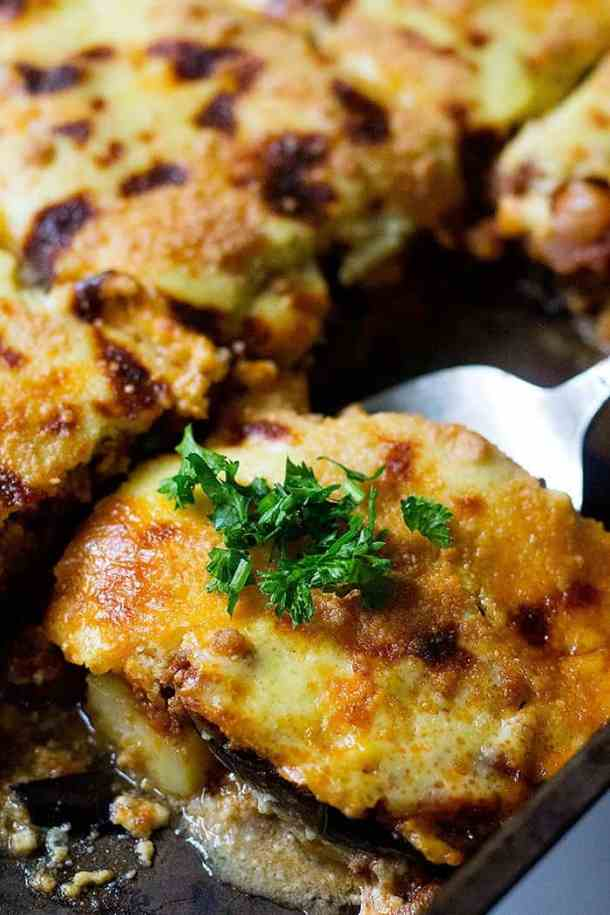 Learn how to make moussaka at home with a few ingredients.