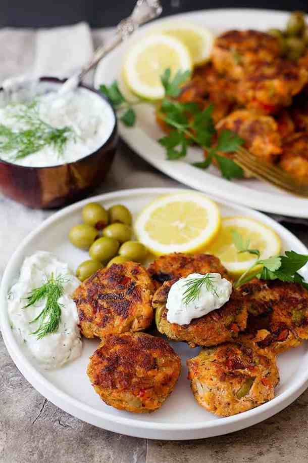 Salmon patties are so easy and are perfect for a family dinner.