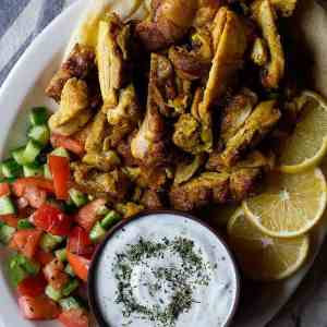 Homemade Chicken Shawarma Recipe [Video]