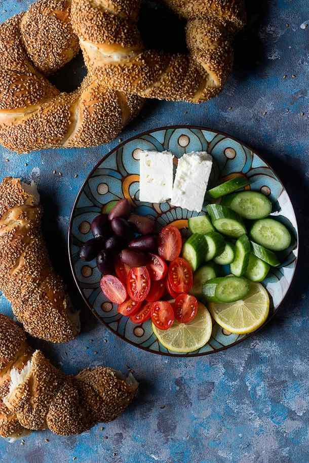 We also love having it with jam or chocolate spreads, needless to say that tahini and molasses is another favorite spread that compliments this Turkish bread very nicely.