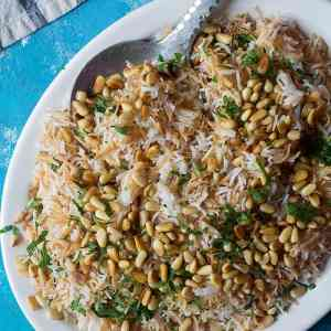 Easy Lebanese Rice with Vermicelli