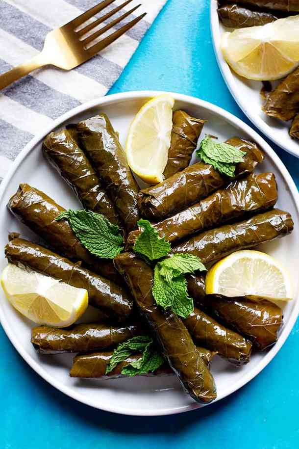 An easy recipe for dolma or stuffed grape leaves that's healthy and hearty. Check out the video and tutorial on how to make stuffed grape leaves.