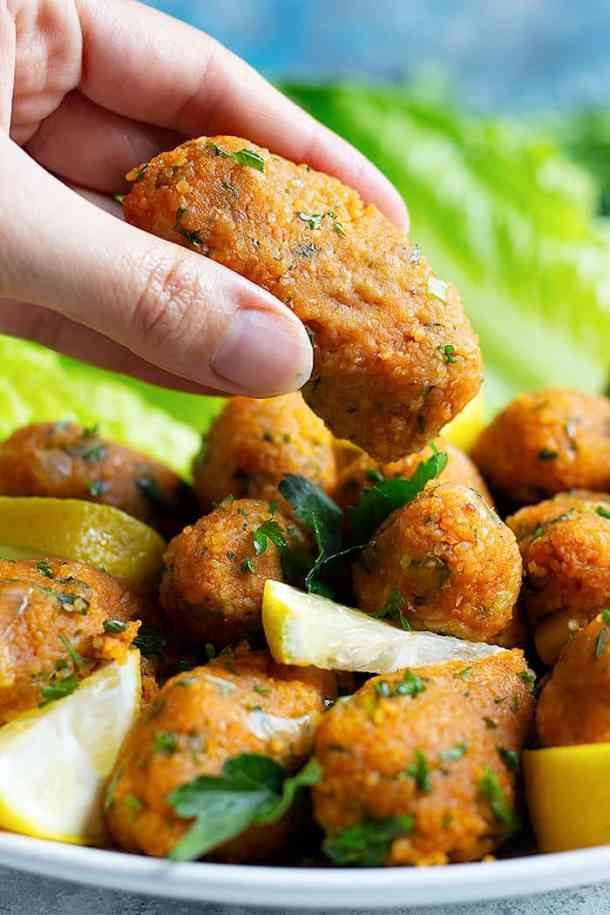 This a lentil recipe for lentil balls that is vegan and easy to make.