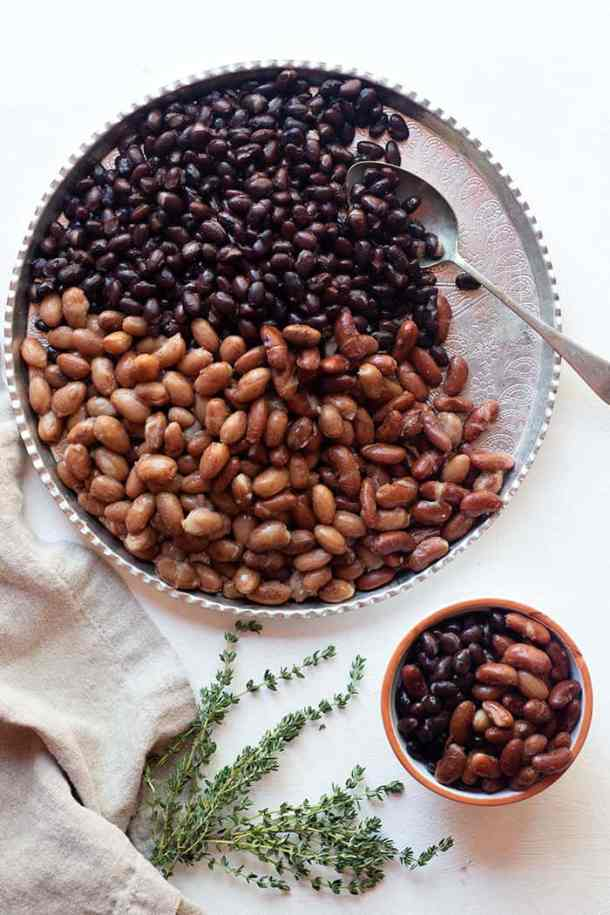 There are so many ways you can use cooked beans such as salads, stews and wraps. You can also freeze them to use up later.