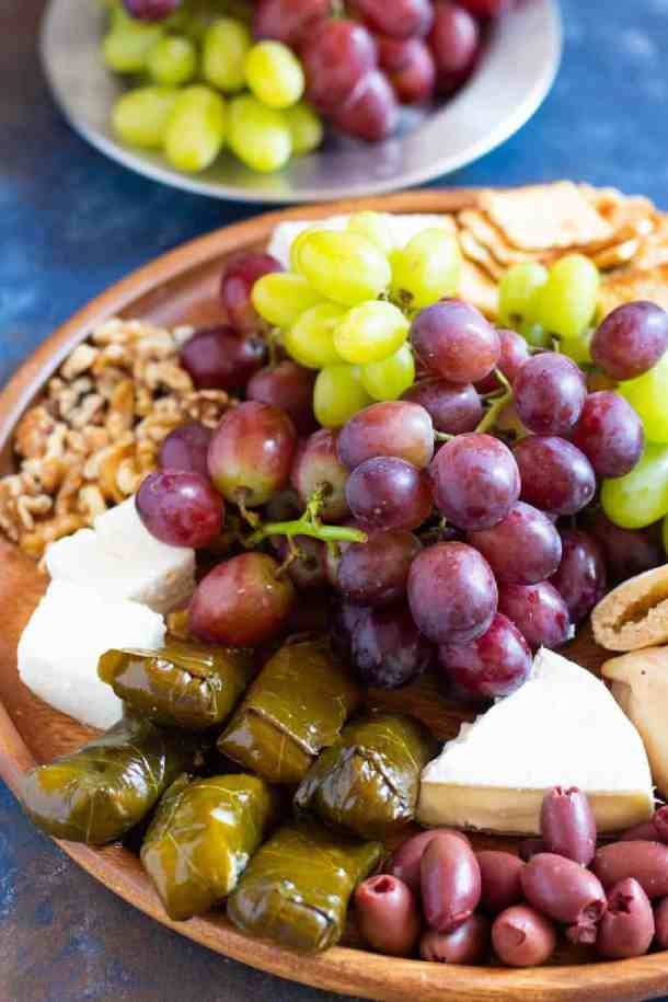 It's very easy to make a light appetizer board.