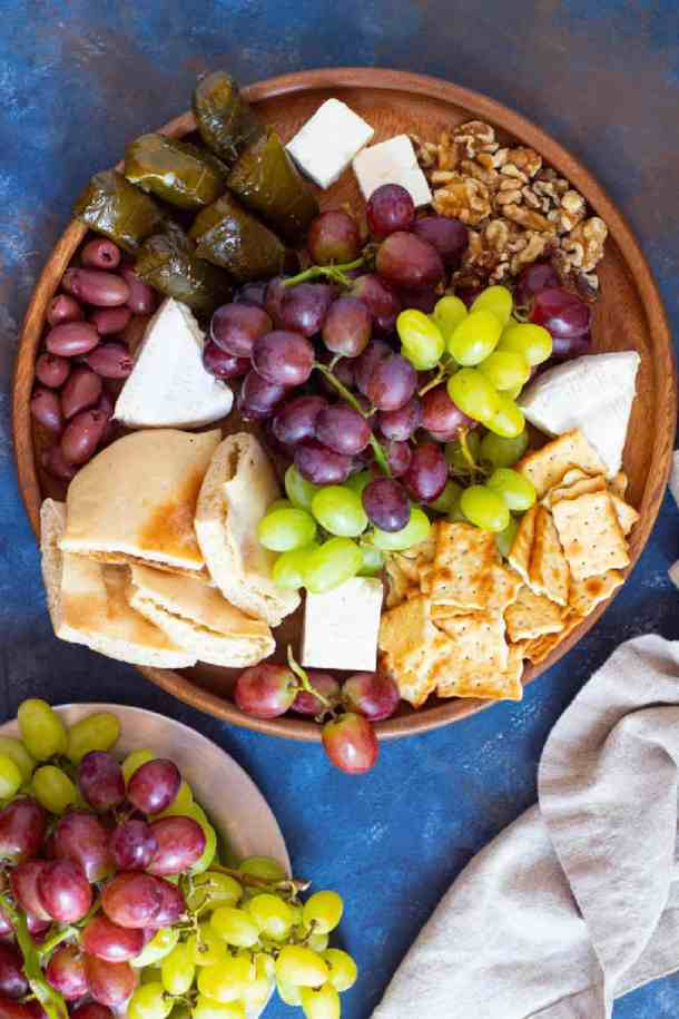 How to make a light appetizer board with just a few ingredients.