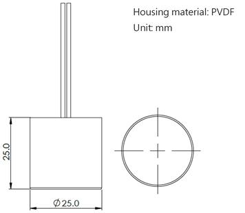 A125A Dimensions