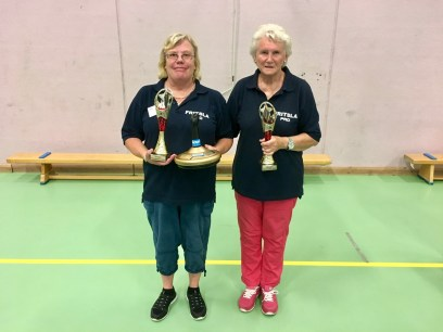 Vinnare: Siv Svensson & Eva Andersson- Fritsla PRO