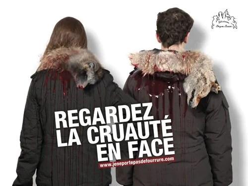 """""""Porter de la fourrure c'est porter la mort"""" - Fondation Brigitte Bardot"""