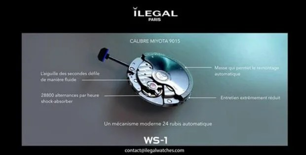 ilegal watches