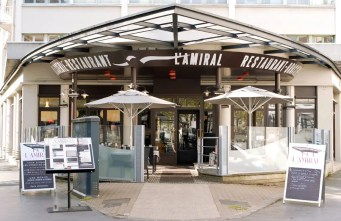 restaurant l'amiral rennes place de bretagne