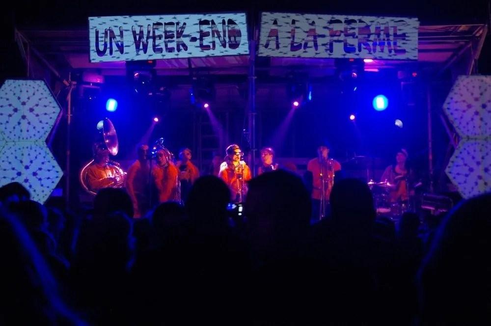 Un week-end à la ferme - Concerts et repas festif Le Tiercent