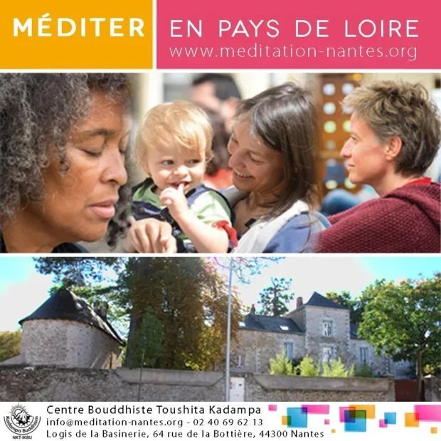 Enseignements et méditations bouddhistes Kadampa Nantes