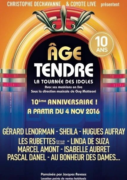 Age Tendre Tours