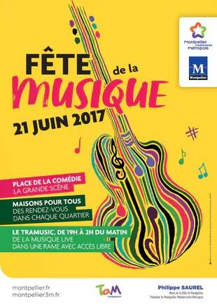 F te de la musique montpellier 2017 programme du 21 juin for Musique piscine