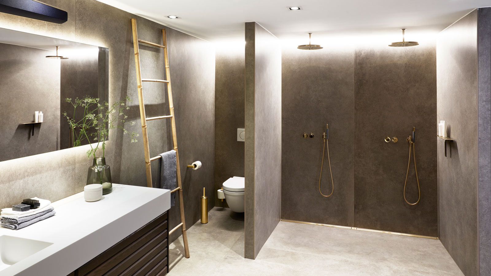 From Crawl Space To Luxurious And Functional Bathroom