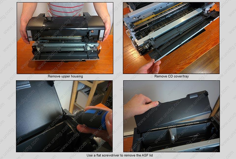 DIY DTG manual based on Epson 1400