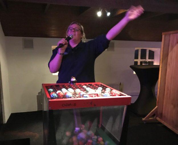 Bingoshow bij Unieke Uitjes, geheel verzorgd uiteraard!
