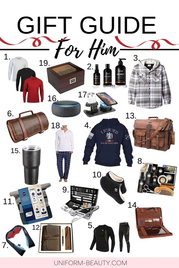 Holiday Gift Guide For Your Husband or Boyfriend