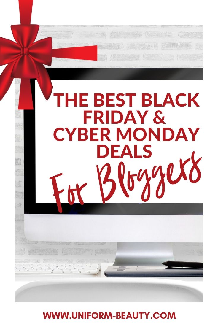The Best Black Friday & Cyber Monday Deals For Bloggers