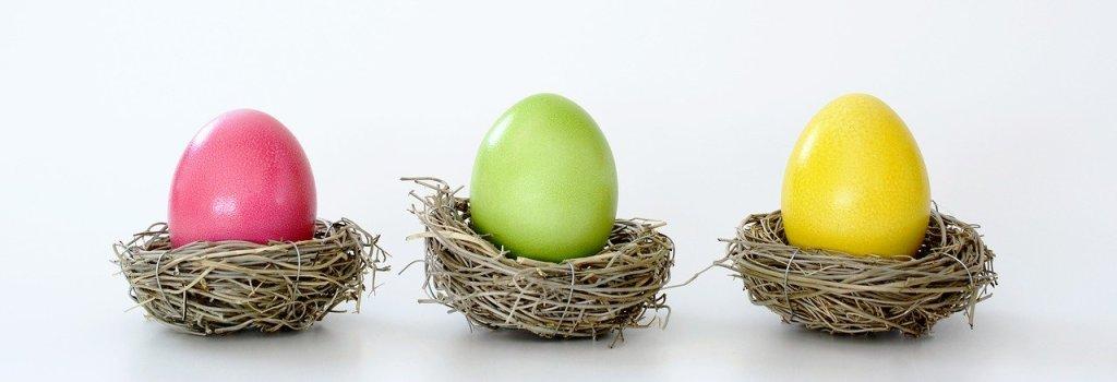 Easter basket, Easter Eggs