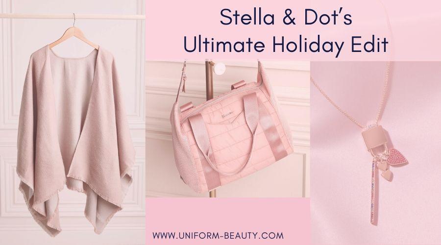 Stella and Dot Holiday, holiday attire, holiday makeup, holiday sweaters