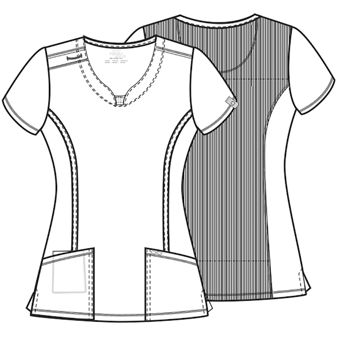 A Infinity Round Neck Top Wine Henry Community Health